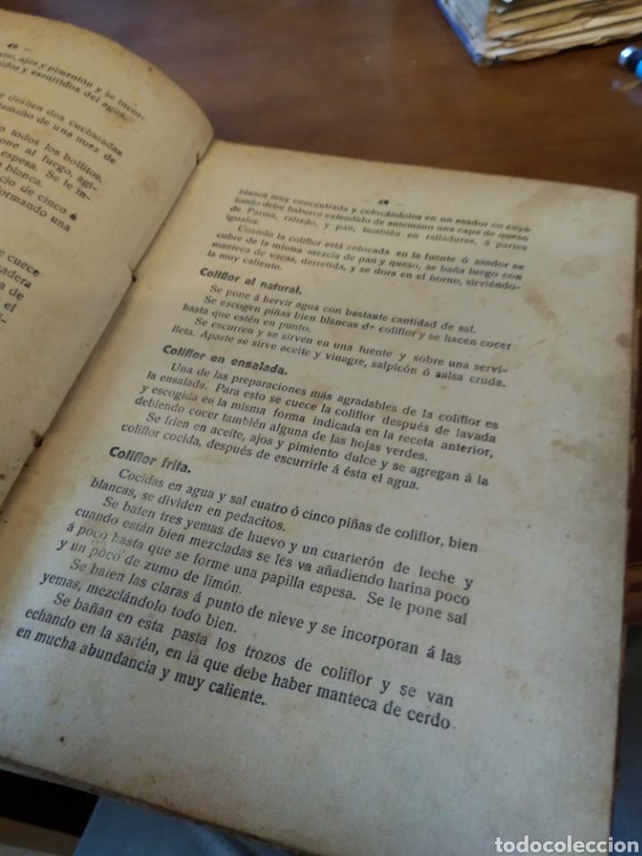 Libros antiguos: LA COCINA PRÁCTICA. PICADILLO. 1917 - Foto 4 - 178711160
