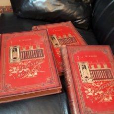 Libros antiguos: QUIMICA INDUSTRIAL Y AGRICOLA. 3 TOMOS.BIEN CONSERVADOS. Lote 178826576