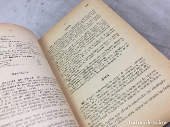 Libros antiguos: RECETARIO DOMESTICO 6690 RECETAS PRACTICAS GHERSI/CASTOLDI GUSTAVO GILI 1923 - Foto 4 - 238647535