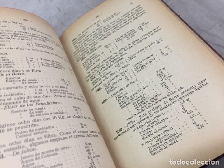 Libros antiguos: RECETARIO DOMESTICO 6690 RECETAS PRACTICAS GHERSI/CASTOLDI GUSTAVO GILI 1923 - Foto 5 - 238647535