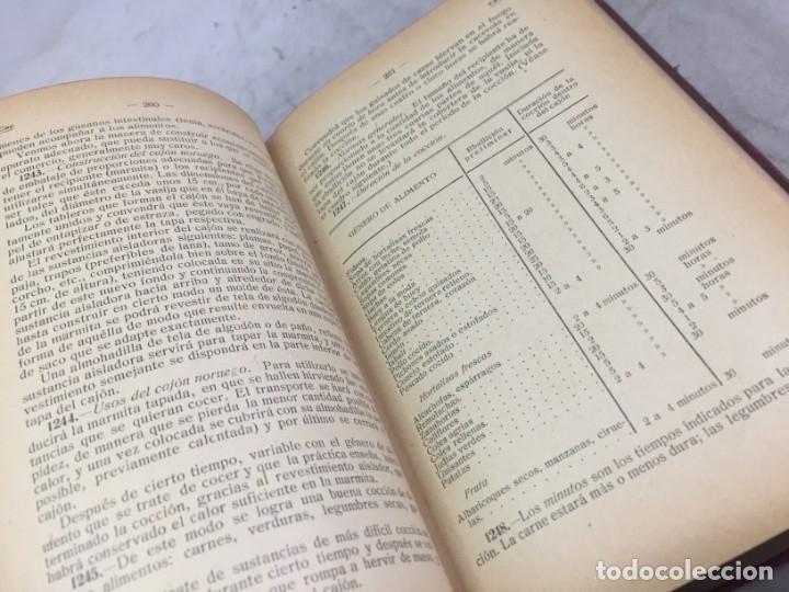 Libros antiguos: RECETARIO DOMESTICO 6690 RECETAS PRACTICAS GHERSI/CASTOLDI GUSTAVO GILI 1923 - Foto 8 - 238647535