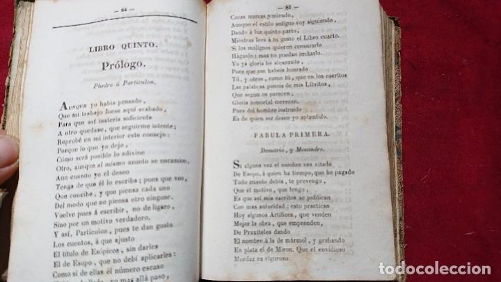 Libros antiguos: COLECCION DE FABULAS ESOPO, PHEDRO, IRIARTE Y SAMANIEGO PARA USO EN ESCUELAS PRIMARIAS AÑO 1844 - Foto 3 - 178857375