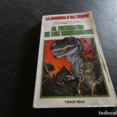 Libros antiguos: LIBROJUEGO LA MAQUINA DEL TIEO 2 AL ENCUENTRO DE LOS DINOSUARIOS. Lote 178871296