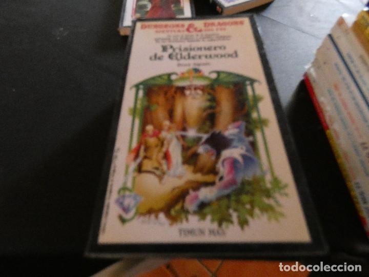LIBROJUEGO DUNGEONS AND DRAGONS AVENTURA SIN FIN PRISIONERO DE ELDERWOOD 15 (Libros Antiguos, Raros y Curiosos - Literatura Infantil y Juvenil - Otros)