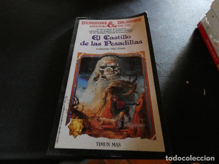 LIBROJUEGO DUNGEONS AND DRAGONS AVENTURA SIN FIN EL CASTILLO DE LAS PESADILLAS 10 (Libros Antiguos, Raros y Curiosos - Literatura Infantil y Juvenil - Otros)