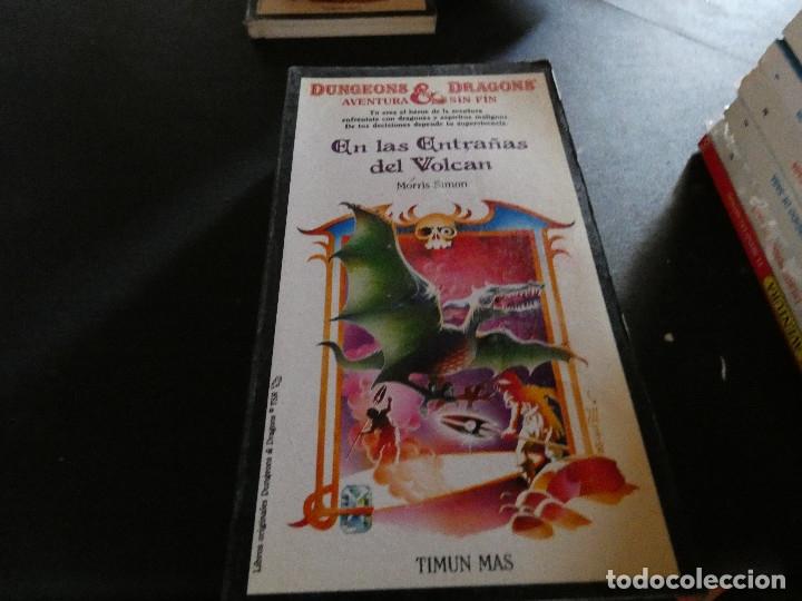 LIBROJUEGO DUNGEONS AND DRAGONS AVENTURA SIN FIN EN LAS ENTRAÑAS DEL VOLCAN 17 (Libros Antiguos, Raros y Curiosos - Literatura Infantil y Juvenil - Otros)