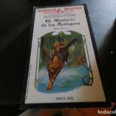 Libros antiguos: LIBROJUEGO DUNGEONS AND DRAGONS AVENTURA SIN FIN EL MISTERIO DE LOS ANTIGUOS 22 . Lote 178871808