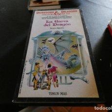 Libros antiguos: LIBROJUEGO DUNGEONS AND DRAGONS AVENTURA SIN FIN LA GARRA DEL DRAGON 20. Lote 178871913