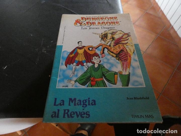 LIBROJUEGO DUNGEONS AND DRAGONS LOS JOVENES DRAGNOES 2 LA MAGIA AL REVES DESPAGINADO RARO (Libros Antiguos, Raros y Curiosos - Literatura Infantil y Juvenil - Otros)