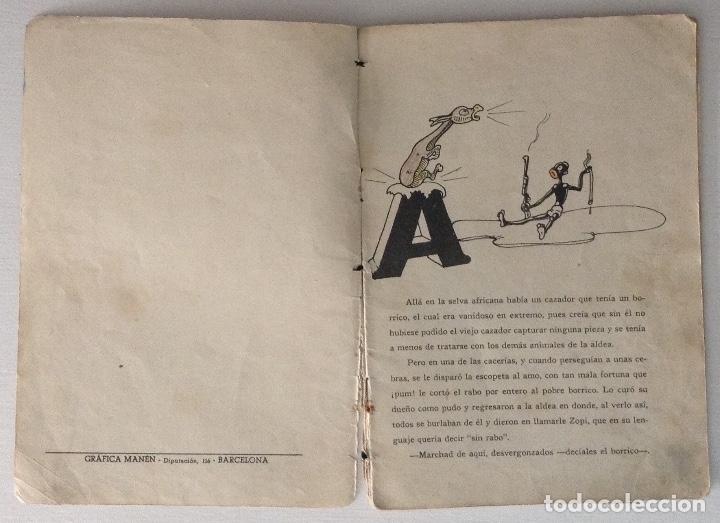 Libros antiguos: El rabo de León por J. Loaso Editorial Roma Algazara de animales serie grandes y gordos - Foto 2 - 178907355