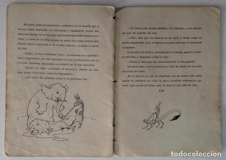 Libros antiguos: El rabo de León por J. Loaso Editorial Roma Algazara de animales serie grandes y gordos - Foto 3 - 178907355