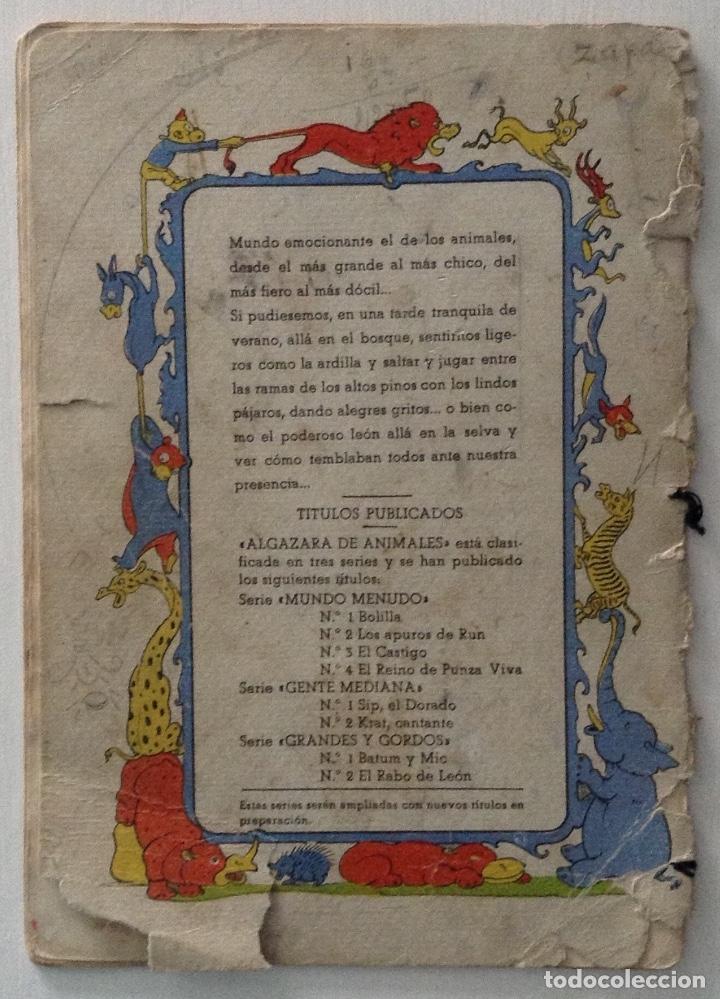 Libros antiguos: El rabo de León por J. Loaso Editorial Roma Algazara de animales serie grandes y gordos - Foto 4 - 178907355