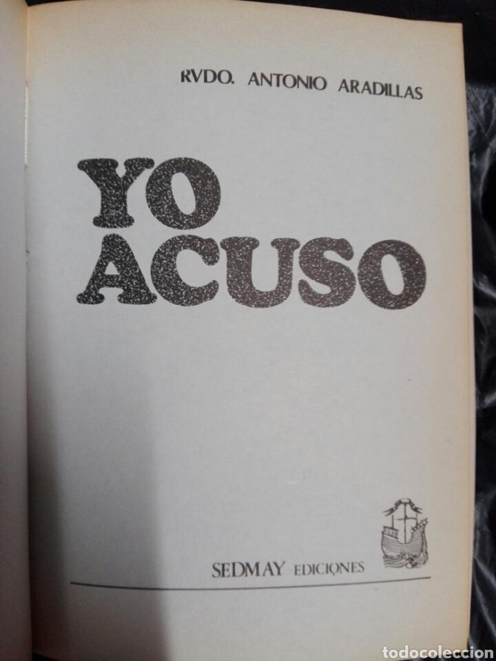 Libros antiguos: YO ACUSO - Foto 2 - 178913346