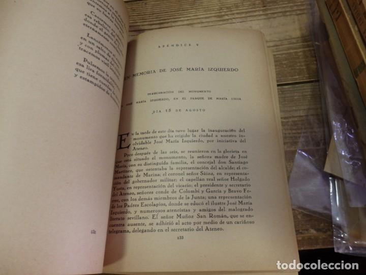 Libros antiguos: SEVILLA, 1926, MEMORIAS ATENEO DE SEVILLA ESCRITAS POR MIGUEL GARCIA BRAVO-FERRER,141 PAGINAS - Foto 2 - 178964611