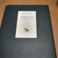 Libros antiguos: SOBRE LOS ÁNGELES. Lote 178984802