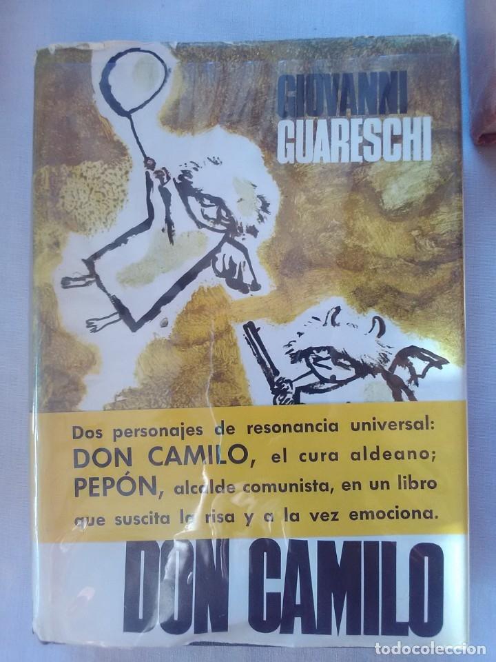 DON CAMILO - GIOVANNI GUARESCHI - 1ª EDICION DE 1963. (Libros antiguos (hasta 1936), raros y curiosos - Literatura - Narrativa - Otros)