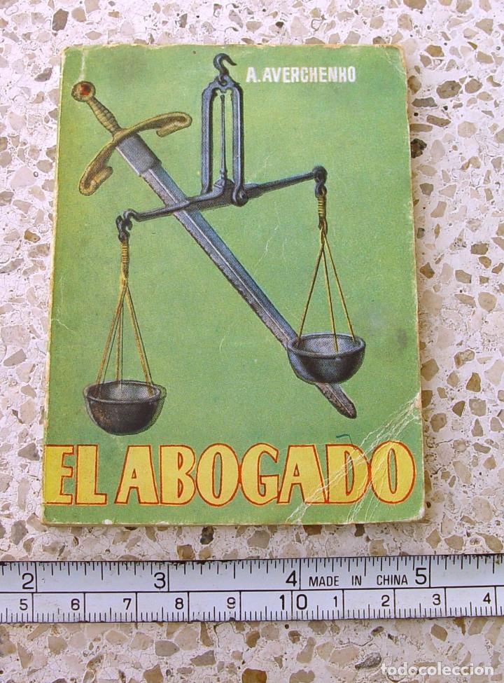 EL ABOGADO. MINI LIBRO....SANNA (Libros antiguos (hasta 1936), raros y curiosos - Literatura - Narrativa - Otros)