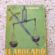 Libros antiguos: EL ABOGADO. MINI LIBRO....SANNA. Lote 178997561