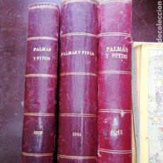 Libros antiguos: PALMAS Y PITOS 1913 AÑO COMPLETO (SOLO AÑO 1913). Lote 179013093