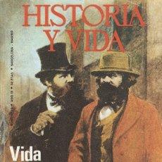 Libros antiguos: HISTORIA Y VIDA. Nº 98. VIDA PRIVADA DE CARLOS MARX. Lote 179029816