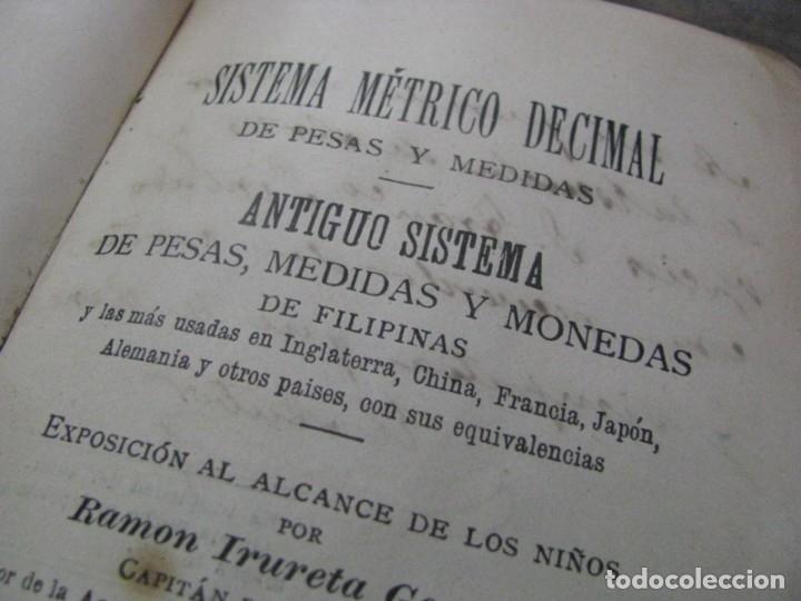 Sistema métrico decimal de pesas, medidas y mon - Vendido en ...