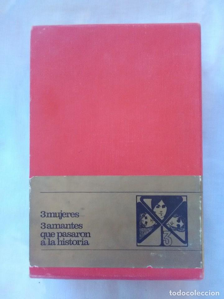 TRES MUJERES - AMANTES QUE PASARON A LA HISTORIA. (Libros antiguos (hasta 1936), raros y curiosos - Literatura - Narrativa - Otros)