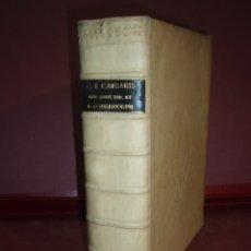 Libros antiguos: C JULII CAESARIS DE BELLIS GALLICO ET CIVILI POMPEJANO 1737. Lote 179068037