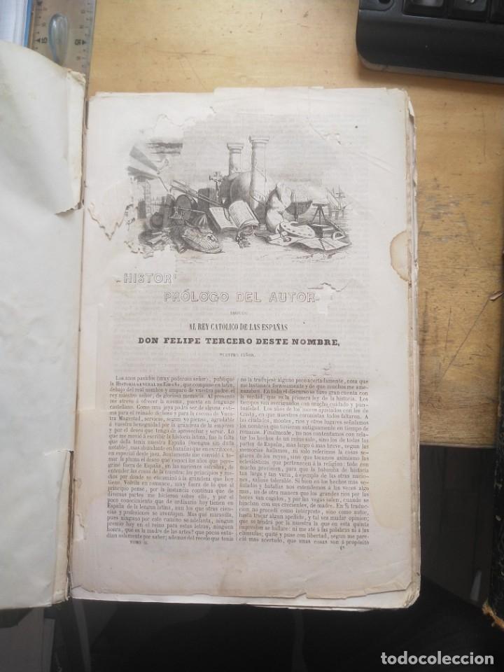 Libros antiguos: HISTORIA GENERAL DE ESPAÑA 2 TOMOS PADRE MARIANA 1852. GASTOS DE ENVIO GRATIS - Foto 4 - 40721504