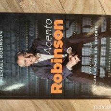 Libros antiguos: ACENTO ROBINSON - MICHAEL ROBINSON. Lote 179063415