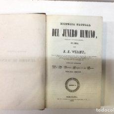 Libros antiguos: VIREY ... HISTORIA NATURAL DEL JENERO HUMANO .... Lote 179095996