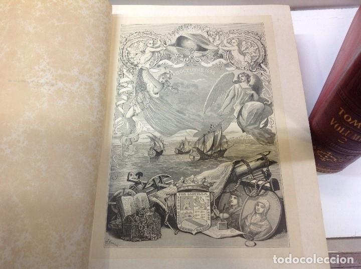 Libros antiguos: PI Y MARGAL ... HISTORIA GENERAL DE AMERICA ... 1888 - Foto 2 - 179105572