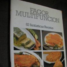 Libros antiguos: RECETAS FAGOR MULTIFUNCION. Lote 179110458