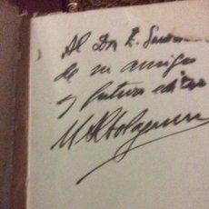 Libros antiguos: NUBE TEMPORAL .DEDICADO POR EL AUTOR .MANUEL ALTOLAGUIRRE. Lote 179121778