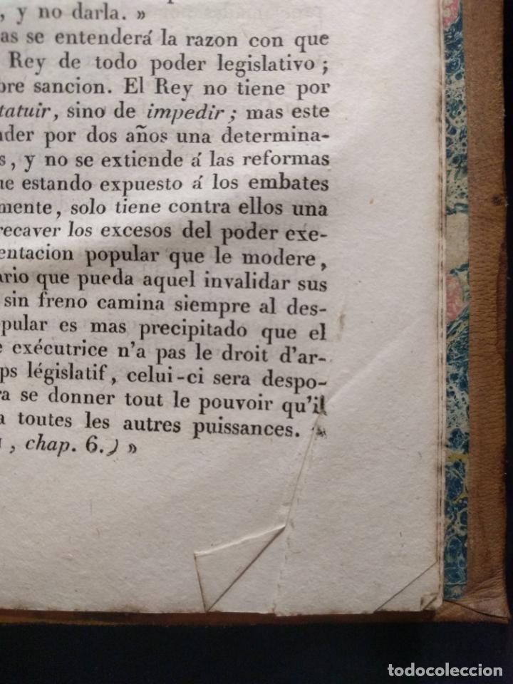 Libros antiguos: Examen de los delitos de infidelidad a la patria. Felix María Reinoso. Burdeos. 1818. 2ª Edición - Foto 8 - 179126357