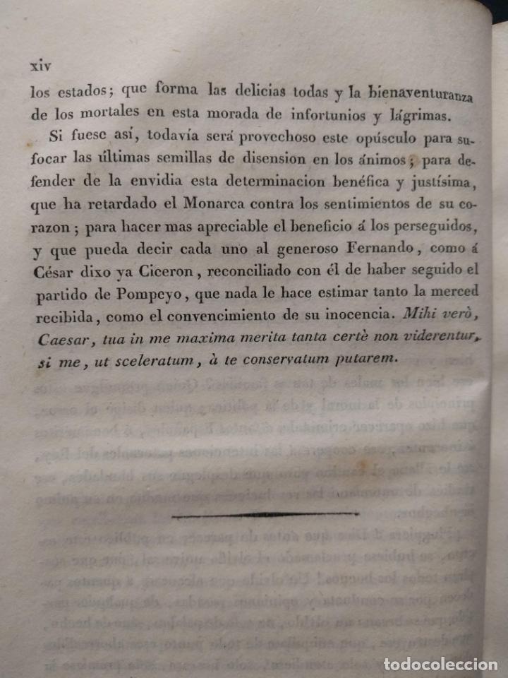 Libros antiguos: Examen de los delitos de infidelidad a la patria. Felix María Reinoso. Burdeos. 1818. 2ª Edición - Foto 10 - 179126357
