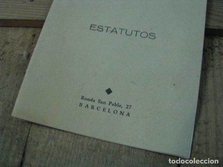 Libros antiguos: SOCIEDAD COOPERATIVA VIVIENDAS OLIMPIA ESTATUTOS. BARCELONA - Foto 4 - 179141531