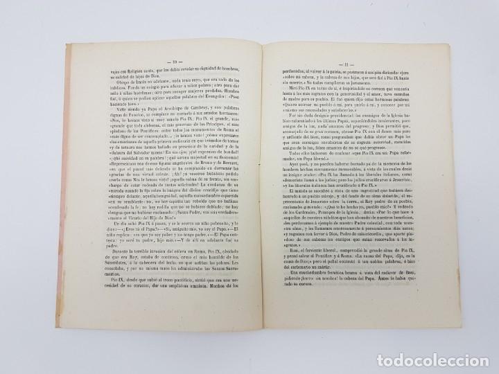 Libros antiguos: LIBRO EL PAPA Y NAPOLEON POR APARISI Y GUIJARRO ( 1860 ) - Foto 4 - 179173510