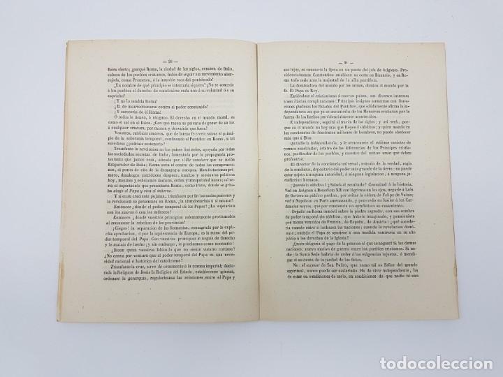 Libros antiguos: LIBRO EL PAPA Y NAPOLEON POR APARISI Y GUIJARRO ( 1860 ) - Foto 5 - 179173510
