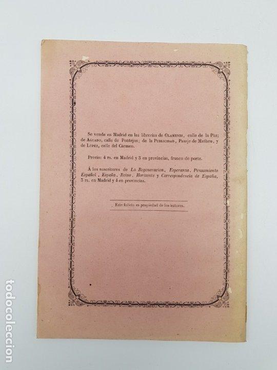 Libros antiguos: LIBRO EL PAPA Y NAPOLEON POR APARISI Y GUIJARRO ( 1860 ) - Foto 6 - 179173510