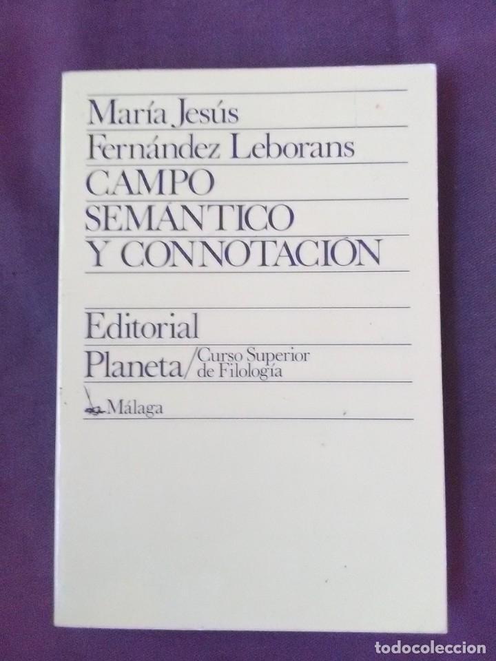 Libros antiguos: Lote 2 títulos Lengua y discurso en la Creación léxica y Campo semántico y Connotación. - Foto 3 - 179180846