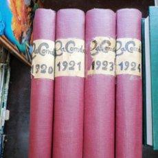 Libros antiguos: REVISTA LA CORRIDA AÑO 1924,(SOLO AÑO 1924). Lote 179184212