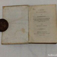 Libros antiguos: ANTONIO PUIG BLANCH ... LA INQUISICION SIN MASCARA ... 1812. Lote 179189886