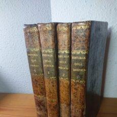 Libros antiguos: HISTORIA DE LA AMÉRICA, W. ROBERTSON, 1839, EN CUATRO TOMOS. Lote 179195691