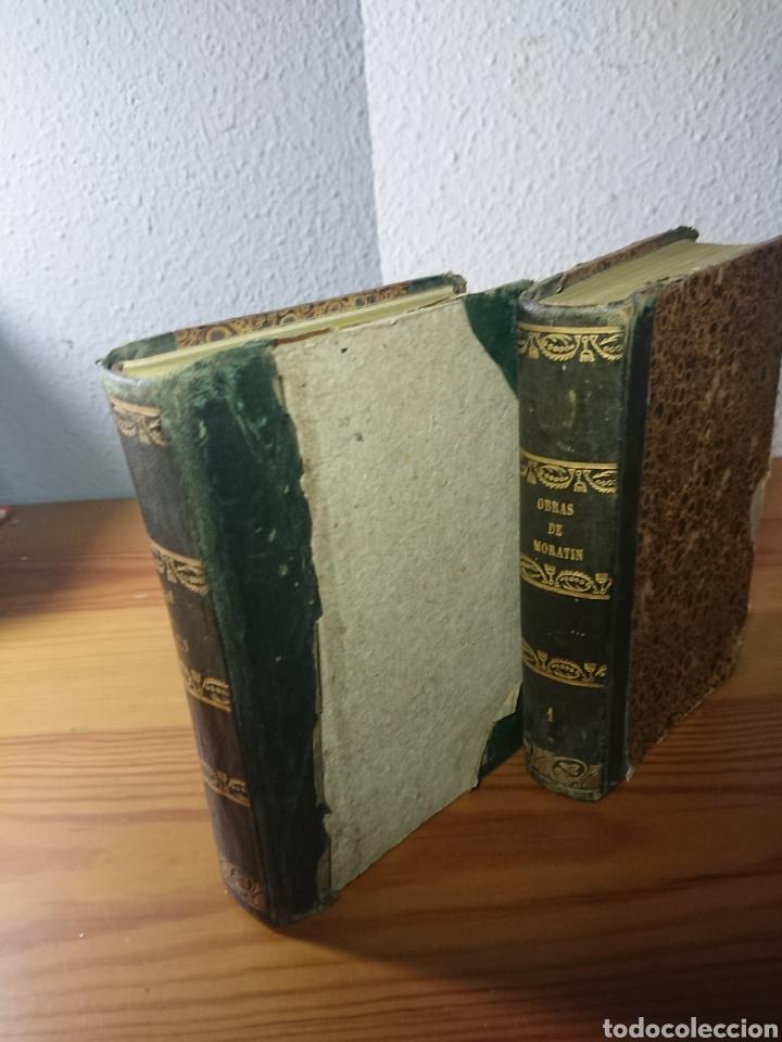 Libros antiguos: Obras dramáticas y líricas de Moratin, 1844, en dos Tomos - Foto 5 - 179196386