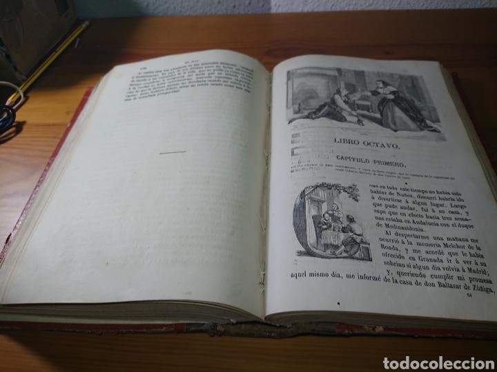 Libros antiguos: Historia de Gil Blas de Santillana, 1867, por Mr. Lesage - Foto 5 - 179196858