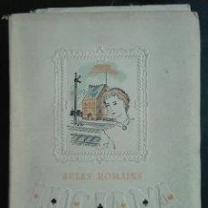 Libros antiguos: JULES ROMAINS. LUCIANA. 1943. Lote 179206148