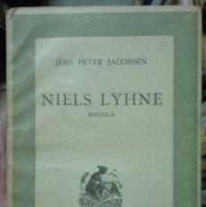 Libros antiguos: JACOBSEN. NIELS LYHNE. 1941. Lote 179206361