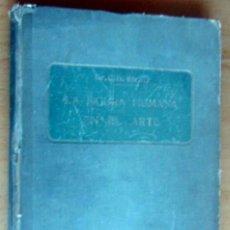 Libros antiguos: DR. C.H.STRATZ. LA FIGURA HUMANA EN EL ARTE. SALVAT Y Cª, S EN C.,EDITORES AÑO 1915, PRIMERA EDICIO. Lote 179237911