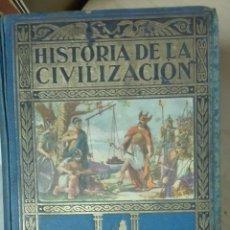 Libros antiguos: HERRERO MIGUEL. HISTORIA DE LA CIVILIZACIÓN. BOSQUEJOS DE LA HISTORIA DEL MUNDO.. Lote 179249081