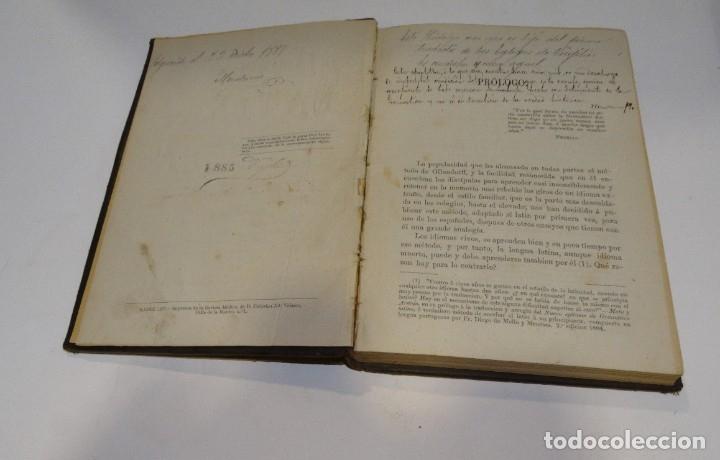 Libros antiguos: GRAMÁTICA LATINA Y METODO PARA APRENDERLA POR FRANCISCO HIDALGO 1872. - Foto 5 - 179325212